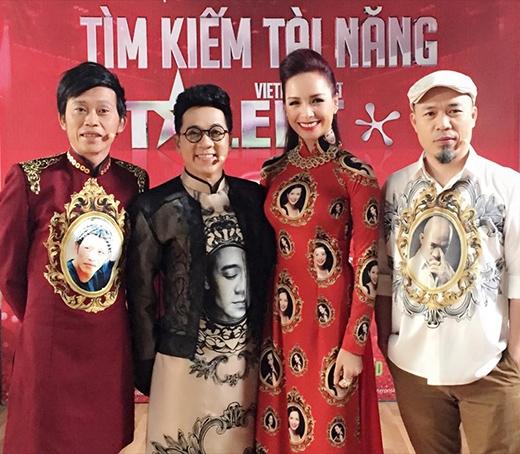 Bộ tứ giám khảo quyền lực của chương trình: Hoài Linh, Thành Lộc, Thúy Hạnh và Huy Tuấn.