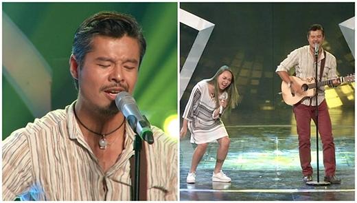Sự kết hợp tuyệt vời trên sân khấu Got Talent Bán kết 7 giữa Lâm Vissay với Kimmese.