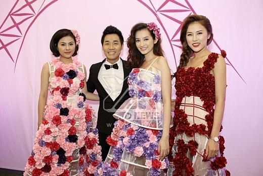 Người đẹpTrúc Diễmcùng diễn viênVân Trangđảm nhận vai trò người mẫu chính của sự kiện.
