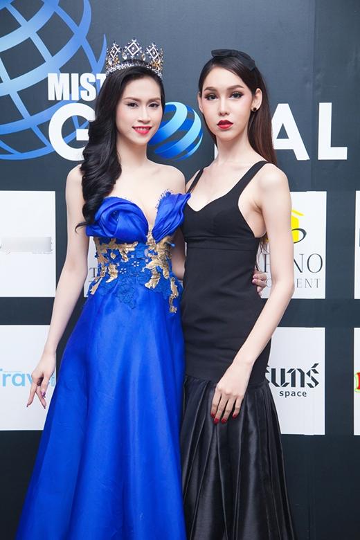 Hoa hậu Thu Vũ đại diện Việt Nam chấm thi Mister Global 2015