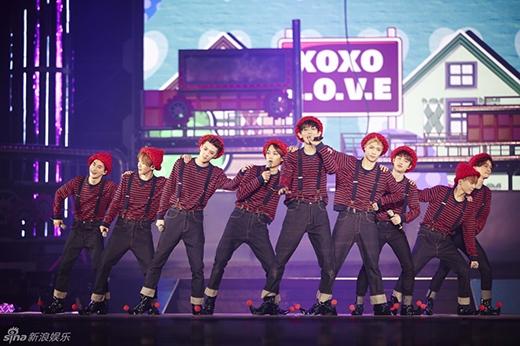 EXO chuẩn bị đối đầu cùng đàn anh Big Bang vào tháng 4?