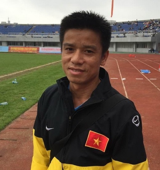 HLV đội U.16 Việt Nam Lưu Danh Minh