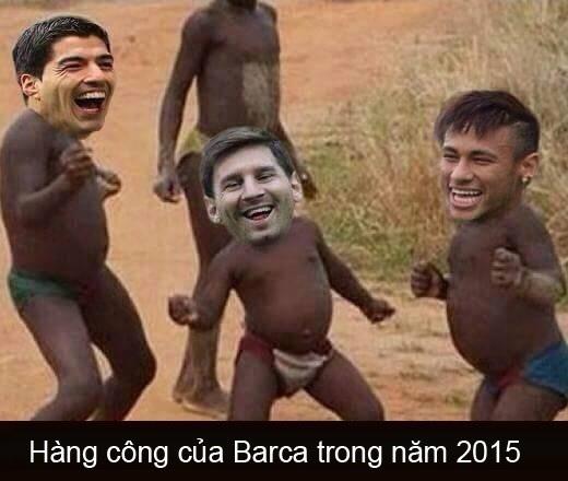 Chỉ tính riêng trong năm 2015, bộ ba Neymar - Messi - Suarez đã có tới 44 lần lập công. Và với sự thăng hoa trong thời gian tới chắc chắn bộ ba này sẽ ngày càng khủng khiếp hơn nữa.