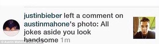 "Justin Bieber ""mỉa mai"" bạn trai tin đồn của Selena Gomez"