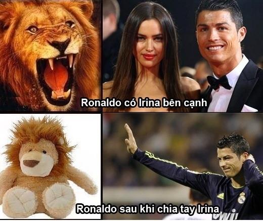 Và cũng rất có lý khi có nhận xét rằng Ronaldo sau khi chia tay siêu mẫu Irina Shayk đã đánh mất luôn phong độ cũng như khả năng ghi bàn của mình.
