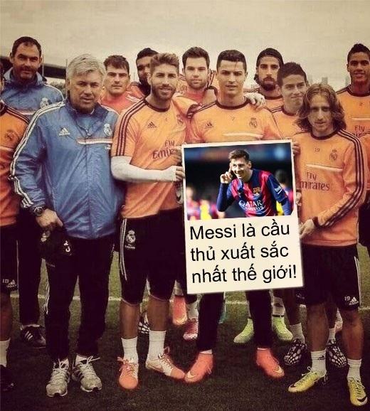 30 bàn, đó là thành tích ghi bàn của riêng Messi và Neymar cộng lại, hơn 6 bàn so với những gì Real làm được từ đầu năm 2015 đến nay (24 bàn). Dù là kẻ thù không đội trời chung, nhưng dường như các cầu thủ Real ai nấy cũng đều thừa nhận phong độ tuyệt vời mà Messi cũng như các cầu thủ Barca đang có.