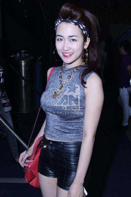 Nụ cười rạng rỡ và tươi tắn của Trang Moon