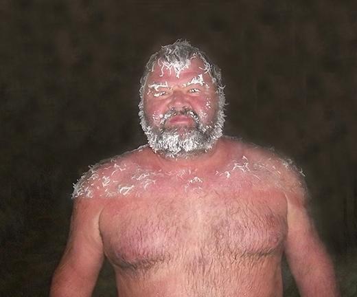 Kỳ lạ cuộc thi tạo kiểu tóc đóng băng ở Canada