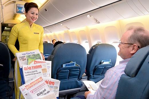 Trên chuyến bay còn có một số vị khách nước ngoài đặc biệt.