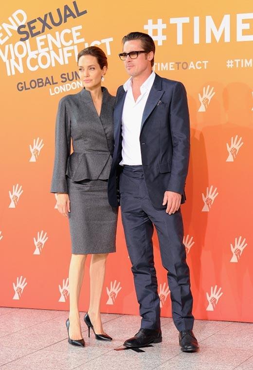 Angelina Jolie và Brad Pitt dính phải tin đồn ly dị