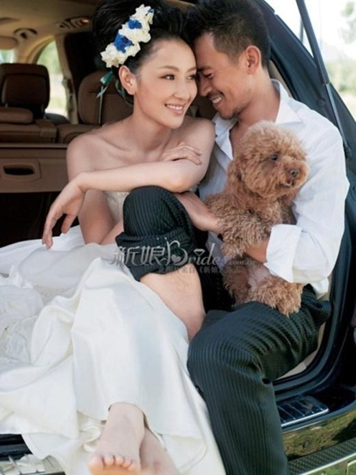 Vương Học Binh và vợ cũ Tôn Ninh