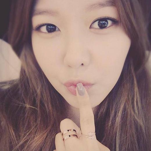 Sooyoung khoe hình tự sướng cực đáng yêu.