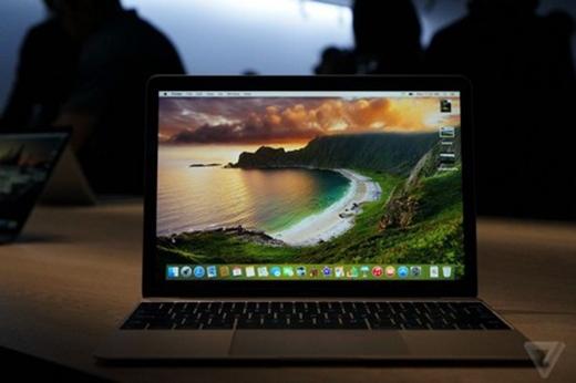 Cận cảnh MacBook 12 inch siêu mỏng, siêu nhẹ của Apple