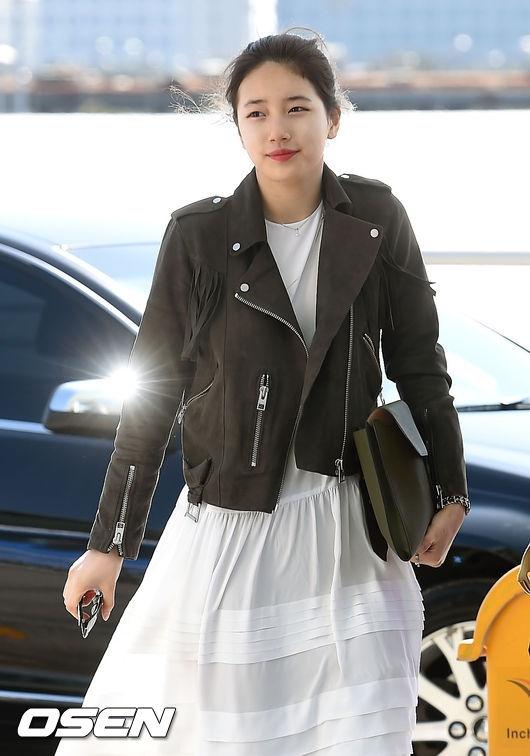 Suzy lộ mặt béo múp nhưng vẫn đáng yêu