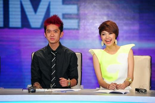 Dumbo làm giám khảo chương trình Got to dance 2013 cùng Minh Hằng.