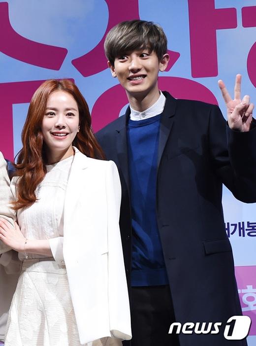 Chanyeol hết lời khen ngợi đàn chị Han Ji Min