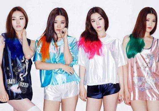 Đội hình sơ khai của Red Velvet