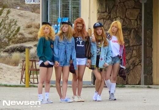 5 thành viên hiện tại của Red Velvet