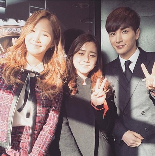 Leeteuk đăng ảnh tham dự sự kiện K-Road cùng Yuri