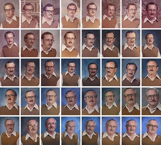 Người thầy bá đạo với cái áo mặc suốt 40 năm