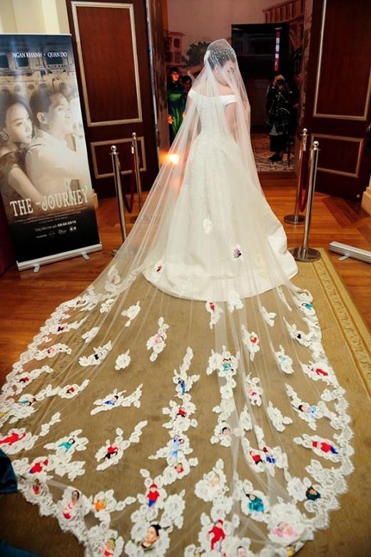 Những chiếc váy cưới mang ý nghĩa đặc biệt của mỹ nhân Việt - Tin sao Viet - Tin tuc sao Viet - Scandal sao Viet - Tin tuc cua Sao - Tin cua Sao