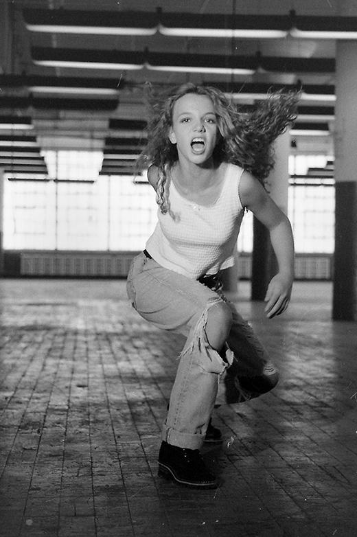 Britney với những hình ảnh đáng yêu ở tuổi 13