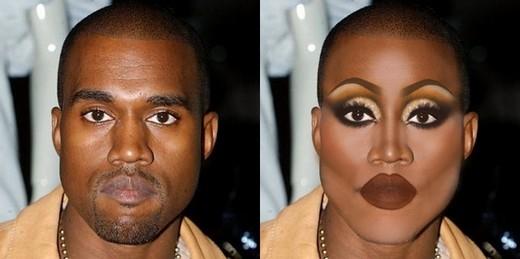 BéNorth Westkhi nhìn thấy bố Kanye West hẳn sẽ phải khóc thét.   Kiểu trang điểm này làmHarry Styles già đi cả chục tuổi.  Chàng đấu sĩ Gerard Butlertrong phim300 nay đã trở thành một phụ nữ đồng bóng có đôi môi dày quá cỡ.   Dwayne The Rock Johnson trông khá hợp với hình ảnh này   Ngay cảtổng thống Barack Obama cũng không được tha   Diễn viên điển trai phim Whap happens in VegasAshton Kutcher trông không còn điển trai tí nào   ChàngZayn của nhómOne Direction nay làCleopatra thời hiện đại   Ryan Gosling trông có vẻ không hợp với kiểu lông mày và màu mắt ánh nhũ tím này.   Michael Cera trông như mẹ của mình năm 50 tuổi.   Diễn viên phimThe InterviewJames Franco   Bruno Mars lại trông khá đẹp gái   Hẳn là khi đóng vai drag queen thì ai cũng được tặng cho một bờ môi thật dày, kể cả diễn viênBenedict Cumberbatch.   Vả cả Joseph Gordon Levitt cũng không là ngoại lệ.