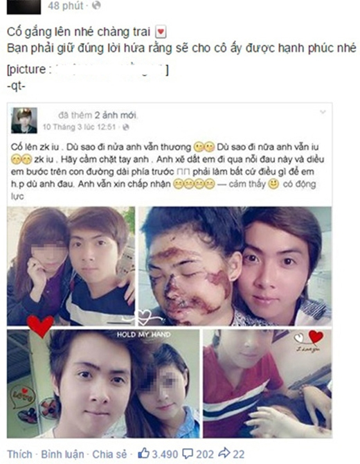 Cộng đồng mạng xuýt xoa trước chuyện tình đẹp khó tin của cặp đôi 9X