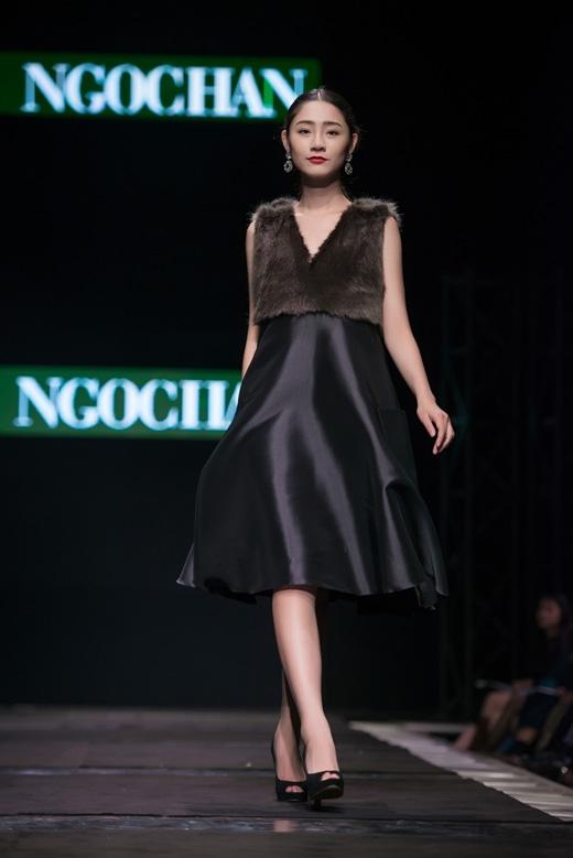 Hoa hậu Ngọc Hân tự tin với vai trò nhà thiết kế