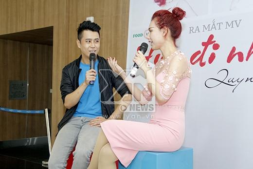 Ngày 22/3 sắp tới sẽ là ngày đánh dáu cột mốc lần đầu tiên đứng trên sân khấu với vai trò ca sĩ của Quỳnh Chi.