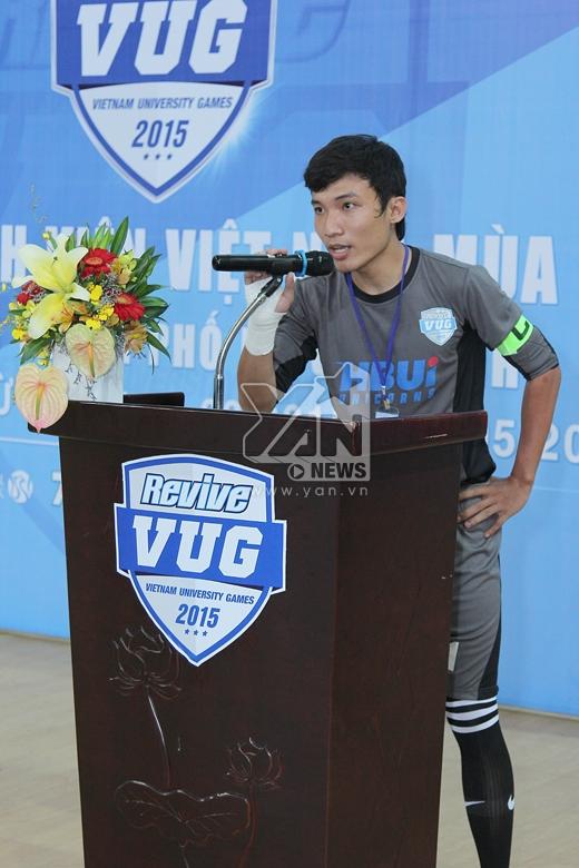 Giải thể thao sinh viên Việt Nam mùa giải 2015 chính thức khởi tranh