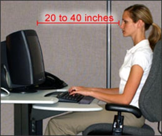Tuyệt chiêu để tránh mỏi mắt khi ngồi trước màn hình