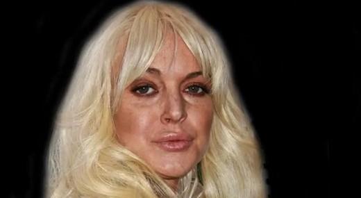 Lindsay trong thời gian nghiện ngập