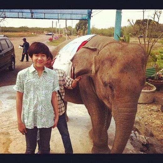 Những hình ảnh đáng yêu của Bam Bam khi ở Thái Lan