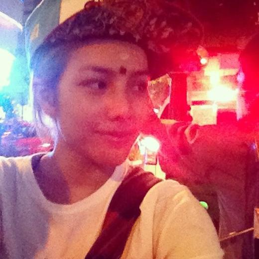 Mint và những hình ảnh khi quay về Thái quảng bá hình ảnh cá nhân