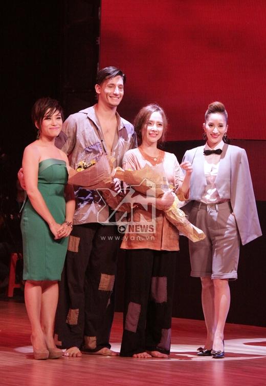 Kết quả, tuần này, cặp đôi Angela Phương Trinh - Kristian giành số điểm cao nhất từ khán giả và giám khảo. - Tin sao Viet - Tin tuc sao Viet - Scandal sao Viet - Tin tuc cua Sao - Tin cua Sao