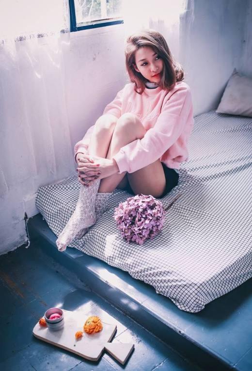 Khả Ngân là một trong những hot girl nổi nhất Sài Thành hiện nay.