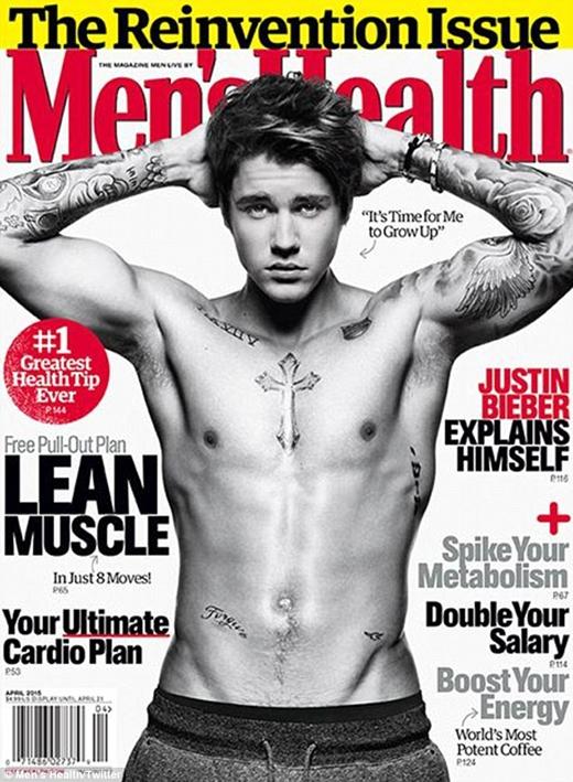 Justin là gương mặt trang bìa của tờ tạp chí nhưng không ai ngờ rằng anh lại bị chỉ trích nặng nề đến vậy
