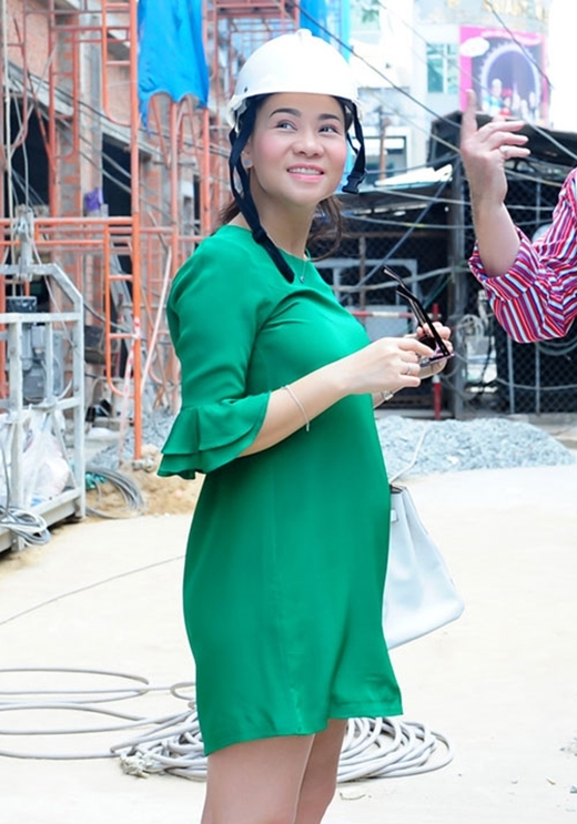Hình ảnh mũm mĩm của Thu Minh trong những tháng cuối của thai kì. Cuộc sống viên mãn của cô chắc chắn là niềm mơ ước của rất nhiều người. - Tin sao Viet - Tin tuc sao Viet - Scandal sao Viet - Tin tuc cua Sao - Tin cua Sao