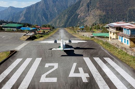 5 sân bay nguy hiểm chết người trên thế giới