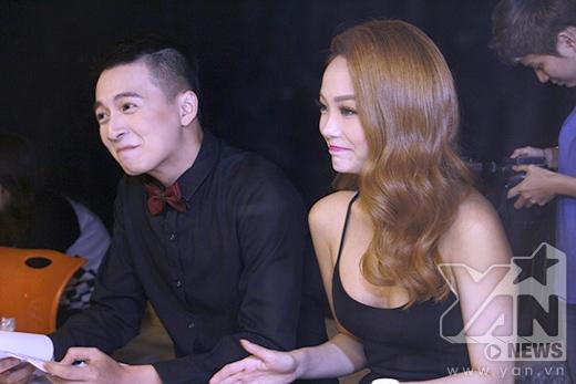 Ngô Kiến Huy và Minh Hằng là 2 nhân vật xuất hiện sớm nhất trong hậu trường. - Tin sao Viet - Tin tuc sao Viet - Scandal sao Viet - Tin tuc cua Sao - Tin cua Sao