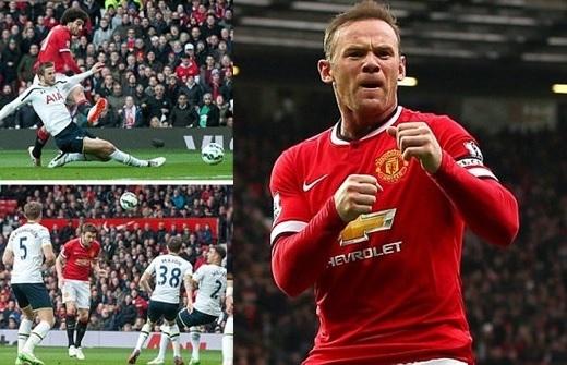 Man Utd giành chiến thắng đậm trước Tottenham, giữ vững vị trí thứ 4 trên BXH