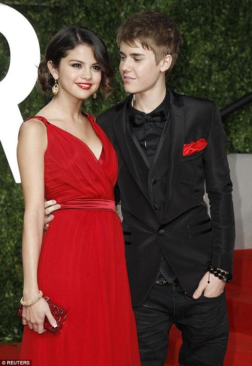 Selena và Justin thời còn mặn nồng