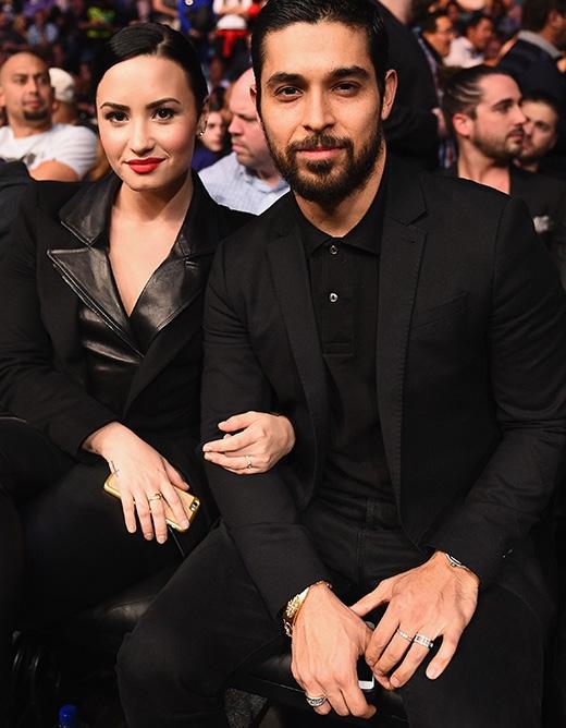 Demi và bạn trai Wilmer