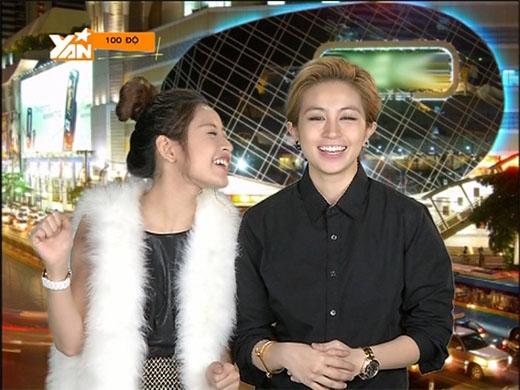 Gil Lê và Chi Pu sẽ là cặp đôi VJ của 100 Độ trên YANTV.