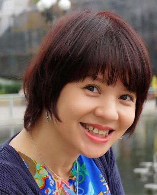 MC - Biên tập viên Diễm Quỳnh ở thời điểm hiện tại, vẫn vô cùng khỏe mạnh và xinh tươi. - Tin sao Viet - Tin tuc sao Viet - Scandal sao Viet - Tin tuc cua Sao - Tin cua Sao