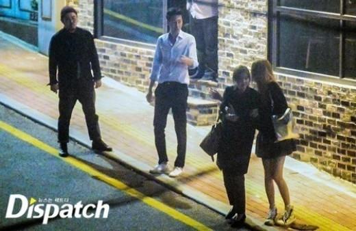 Những lần theo dấu thần tượng xứ Hàn hẹn hò chuối nhất của Dispatch