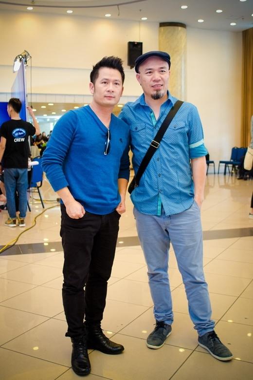 Bằng Kiều và nhà sản xuất âm nhạc, nhạc sĩ Huy Tuấn - Tin sao Viet - Tin tuc sao Viet - Scandal sao Viet - Tin tuc cua Sao - Tin cua Sao