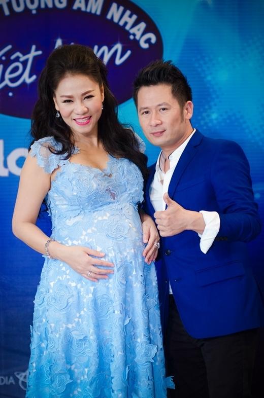 Bằng Kiều vui vẻ chụp ảnh cùng bà bầu Thu Minh - Tin sao Viet - Tin tuc sao Viet - Scandal sao Viet - Tin tuc cua Sao - Tin cua Sao