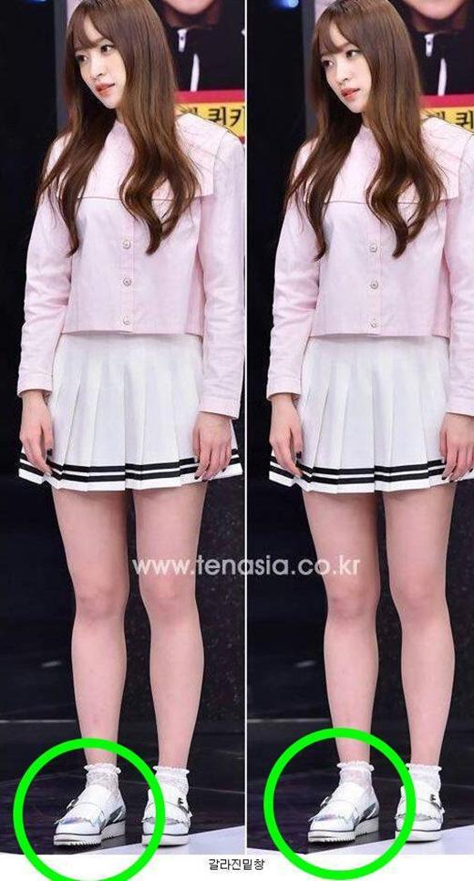 Trang phục biểu diễn rẻ tiền của nhóm nhạc Hàn gây tranh cãi